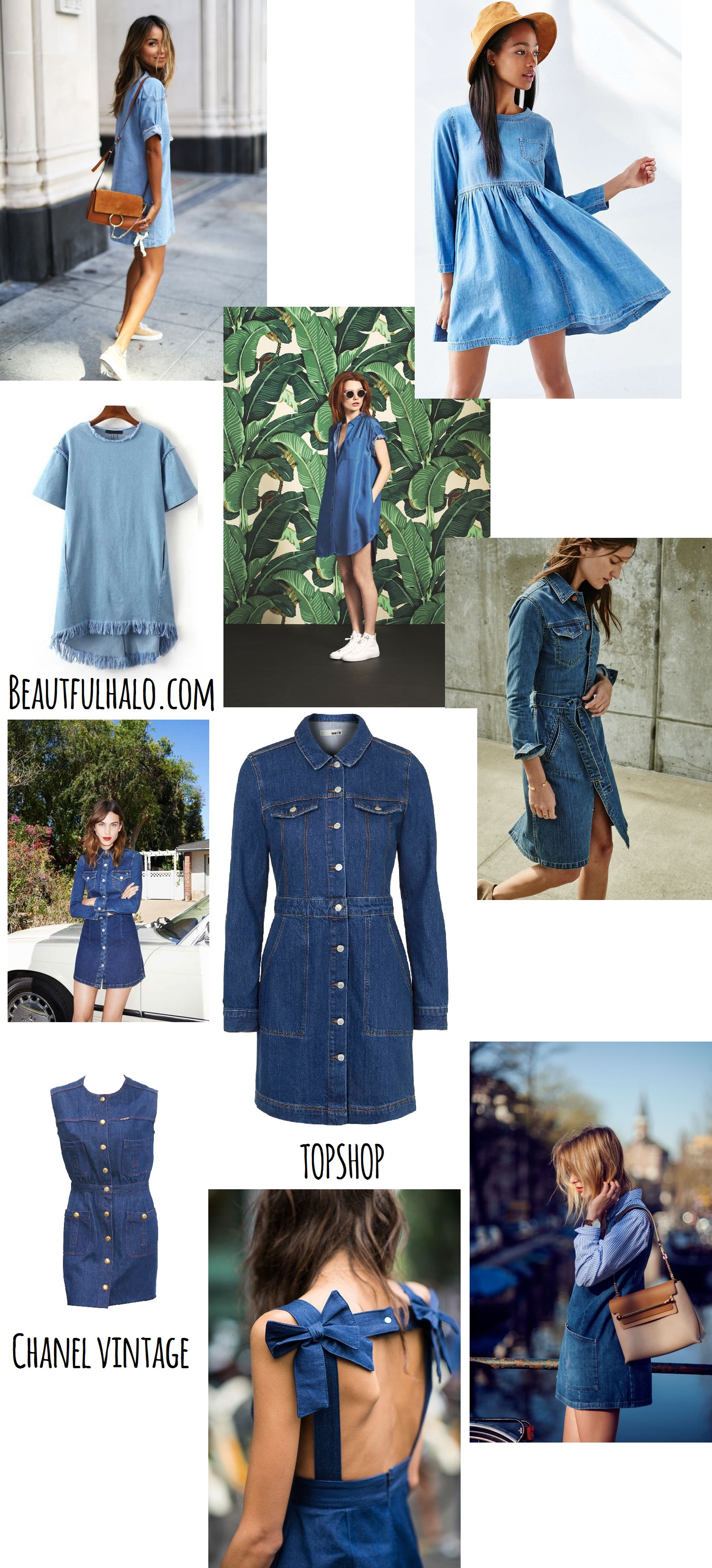 Denim-dress-spring trend- 2016