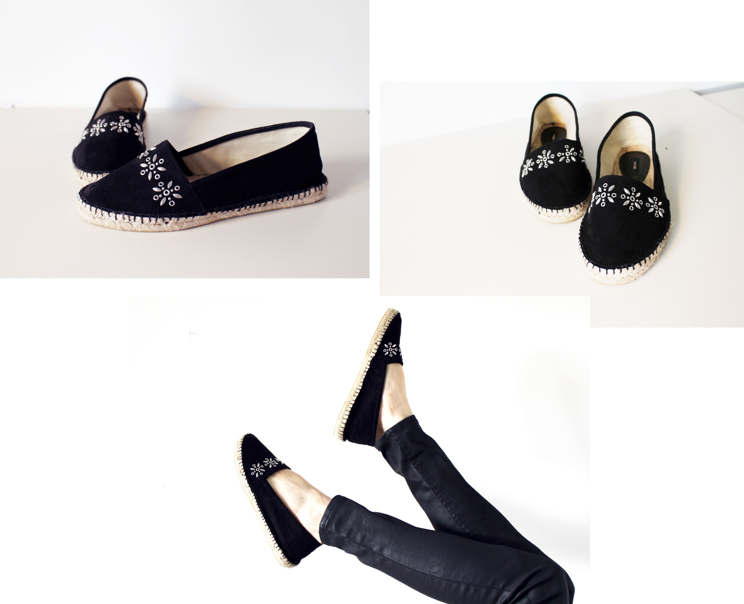 black mango espandrillos shoes trend