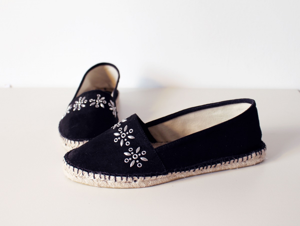black mango espandrillos shoes
