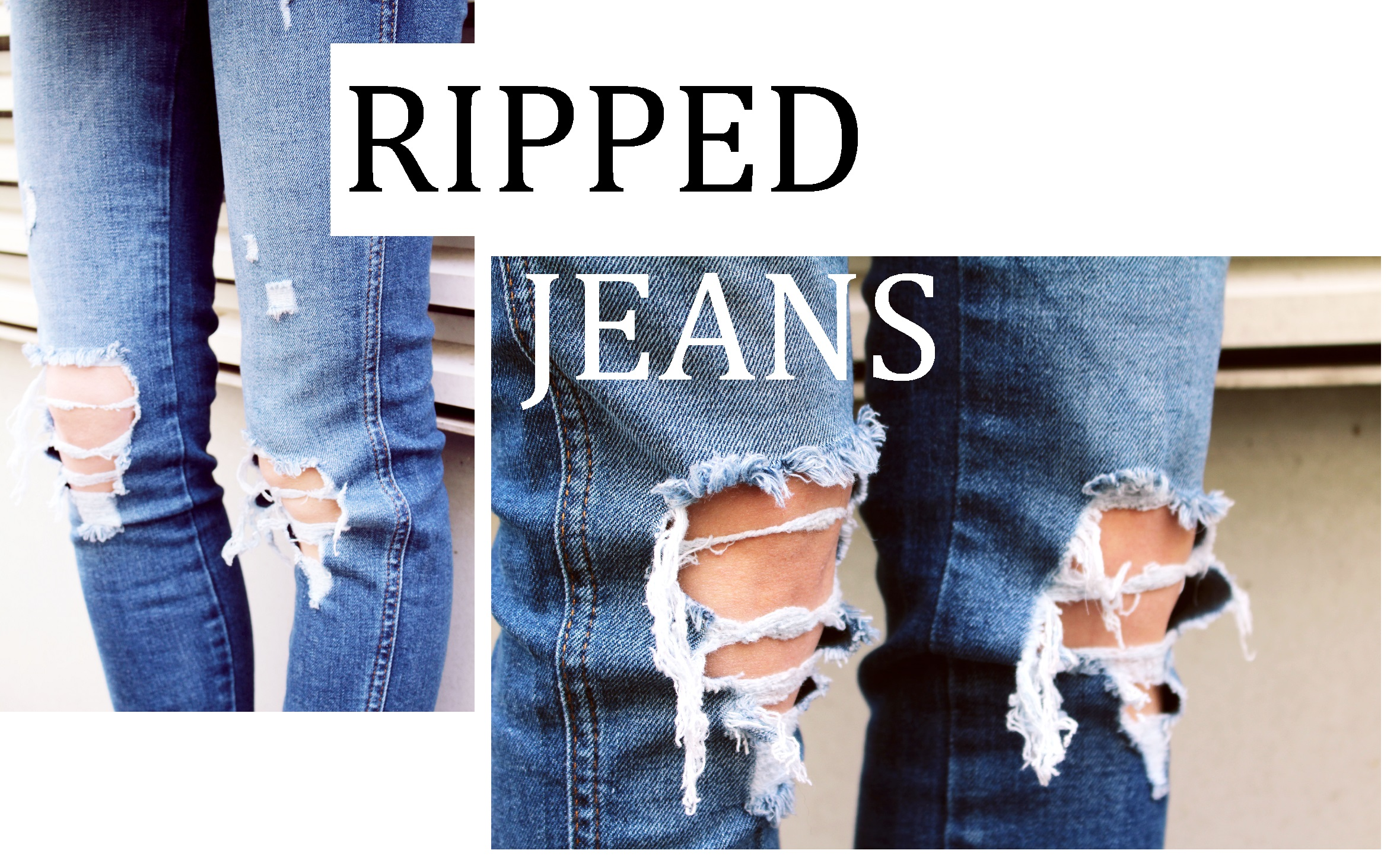 ripped jeans text