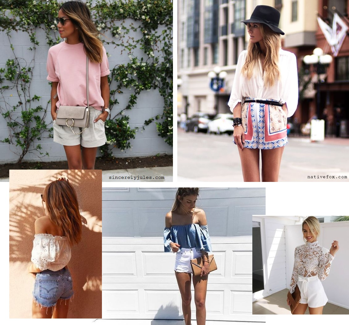 2. Summer vacation shorts