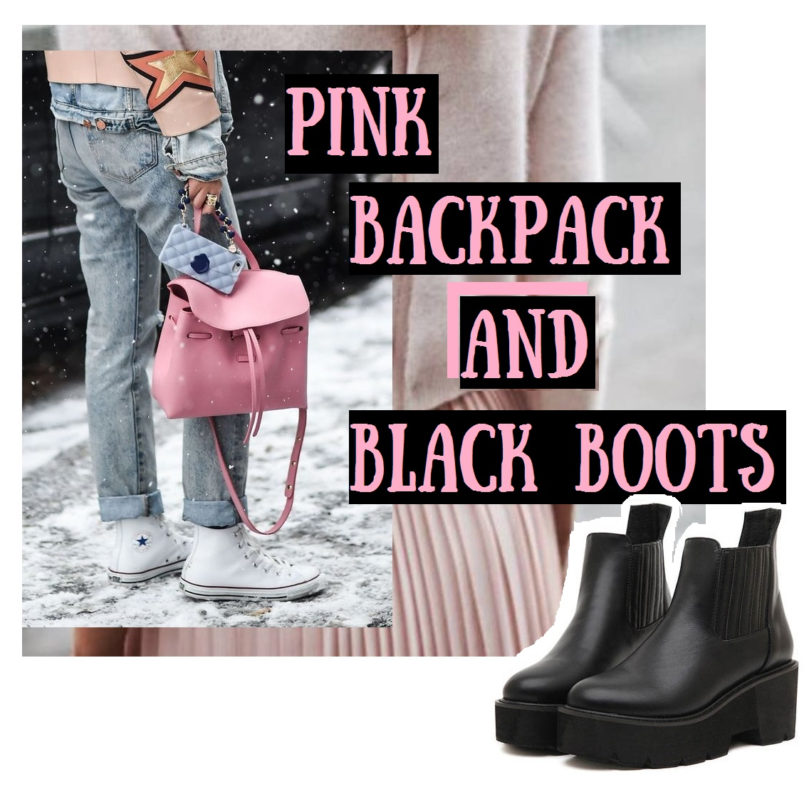 pink-backpack-and-black-boots