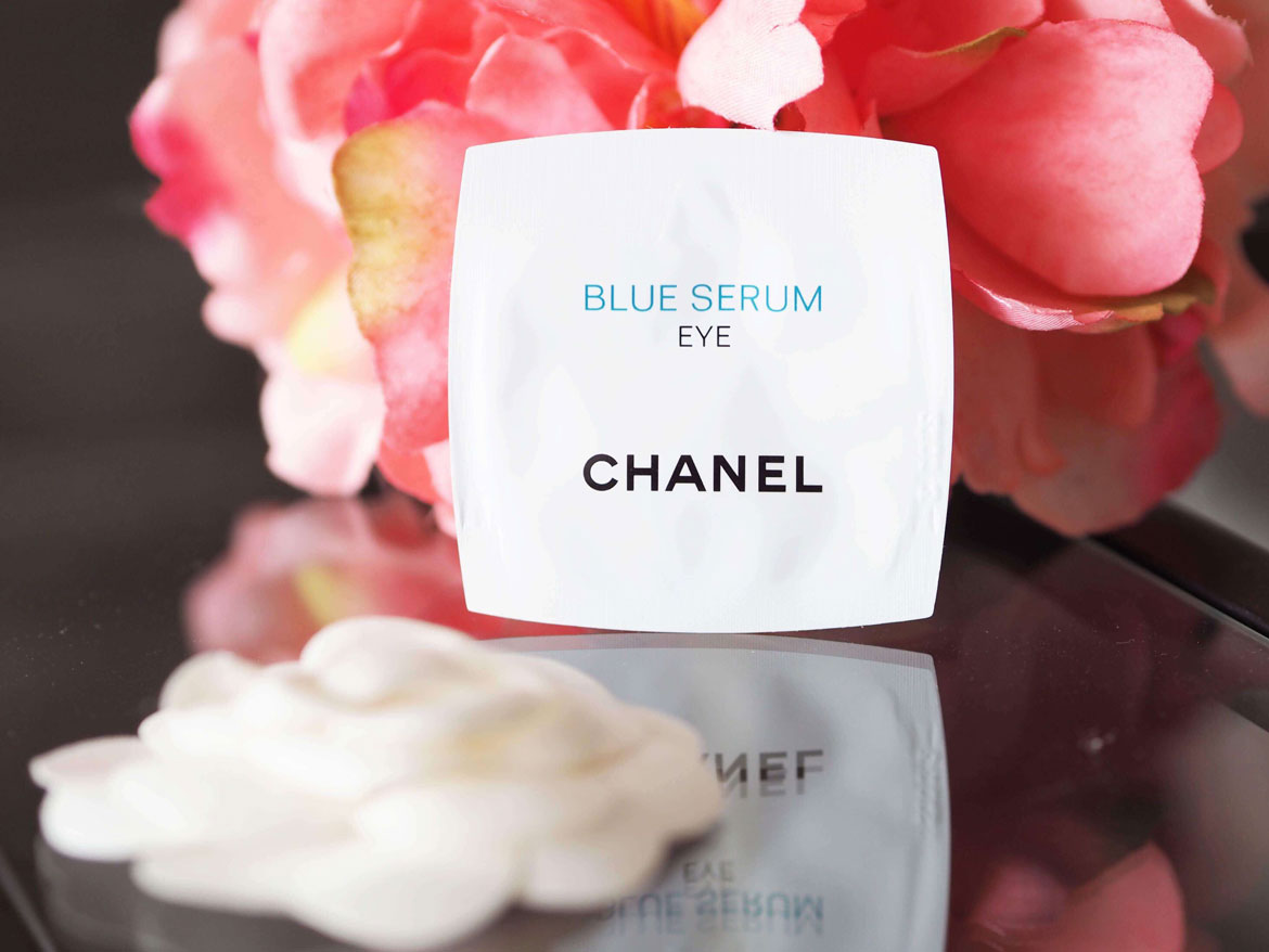 Chanel blue serum eye review