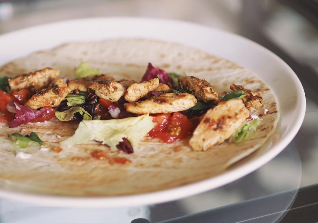 csirkés tortilla recept könnyű és finom
